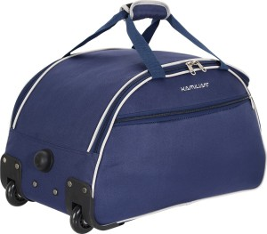 a15eb2a3a Kamiliant by American Tourister ALPS WHD 52 cm Duffel Strolley Bag Blue  Best Price in India | Kamiliant by American Tourister ALPS WHD 52 cm Duffel  Strolley ...