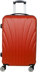 3G 8016 Combact Series Red Hard Sided Travel trolley Suitcase 65 cms/ 24 inch Check-in Luggage - 24 inch