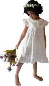 wowme Girls Midi/Knee Length Casual Dress