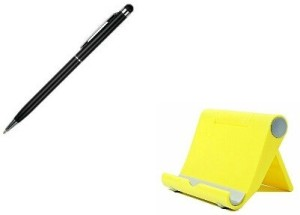 Freya UNIVERSAL Adjustable Stand Portable Fold-up WITH MULTI ANGLE CRADLE MOBILE HOLDER WITH TOUCH SCREEN BALL PEN 2 IN 1 Stylus