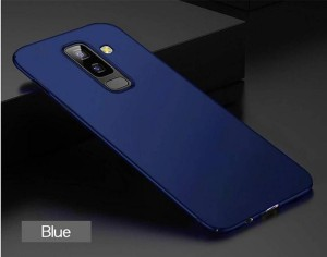 official photos decb2 92106 QuikDeal Back Cover for SAMSUNG J6 2018 INFINITYBlue, Hard Case, Plastic
