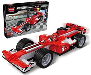 Sanyal 330 Pcs Building Block Construction Bricks Racing Car Model, Fun for Kids to Play With it- ( Multicolored)