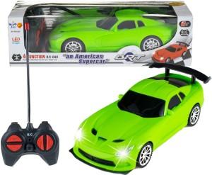 Wishkey Remote Control High speed Racing American Green Super car Green