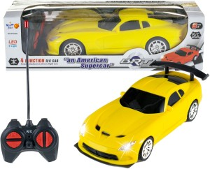 Wishkey Remote Control High speed Racing American Yellow Super car Yellow
