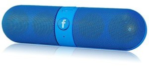 CALLIE Pill Amazid Portable Bluetooth Mobile/Tablet Speaker Bluetooth  Speaker Blue, Stereo Channel