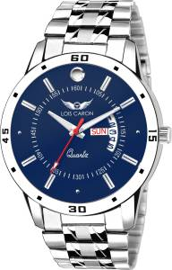 Lois Caron LCS-8073 BLUE DIAL DAY & DATE FUNCTIONING Watch  - For Men