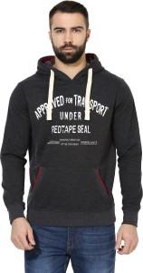 Red Tape Full Sleeve Printed Men's Sweatshirt