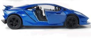 Miss Chief Lamborghini Sesto Elemento Diecast Pull Back Car Blue