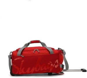 Skybags SWING DFT 55 RED SMALL SIZE Duffel Strolley Bag