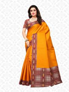 Divastri Printed Fashion Art Silk Saree