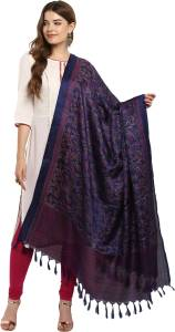 Ratnavati Art Silk, Khadi Self Design Women's Dupatta