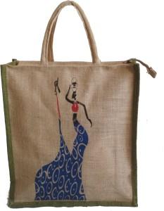 HideCrusH Hand Held Bag for Shopping Waterproof Lunch Bag