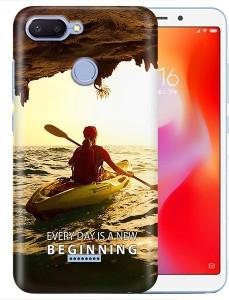 DreamCreation Back Cover for Mi Redmi 6