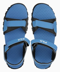 9faa368e6ccf1 Fila Men RYL BLU BLK Sports Sandals Best Price in India