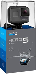 GoPro Go Pro Hero 5 Sports and Action Camera (Black 12 MP) Sports and Action Camera