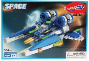 Planet of Toys 304 Pcs Building Blocks For Kids, Children
