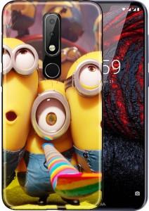 new concept 39037 9eefc Snazzy Back Cover for Nokia 6.1 PlusMulticolor, Grip Case, Flexible Case