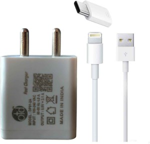 OTD Wall Charger Accessory Combo for iPhone 5s, Iphone 6s, Iphone 7, Samsung Galaxy J5, Lenovo K3 Note