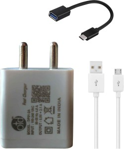 OTD Wall Charger Accessory Combo for Oppo A37, Lenovo K3 Note, Vivo Y55L, Iphone 6s, Iphone 7