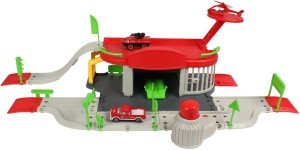 Planet of Toys 1:64 Alloy Rescue Station 50 Pcs Play Set For Kids, Children