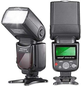 Neewer 750II TTL Flash Speedlite with LCD Display for D7200 D7100 D7000 D5500 D5300 D5200 D5100 D5000 D3300 D3200 D3100 D3000 D700 D600 D500 D90 D80 D70 D60 D50 and Other Nikon DSLR Cameras Flash