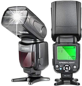 Neewer Speedlite Flash for All DSLR Cameras with Standard Hot Shoe Flash