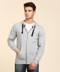 Wrangler Full Sleeve Solid Men's Sweatshirt