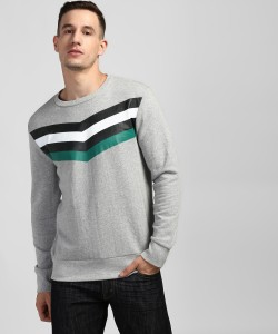 Denizen from Levi's Full Sleeve Solid Men's Sweatshirt