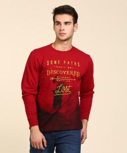 Wrangler Full Sleeve Printed Men's Sweatshirt