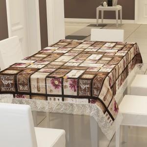 E-Retailer Checkered 6 Seater Table Cover