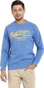 Red Tape Full Sleeve Printed Men Sweatshirt