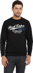 Red Tape Full Sleeve Printed Men Sweatshirt