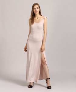 641c8253b60 Forever 21 Women s Maxi Pink Dress Best Price in India