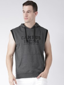 Club York Sleeveless Colorblock Men's Sweatshirt