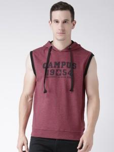 Club York Sleeveless Printed Men's Sweatshirt