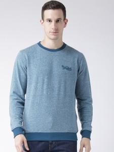 Club York Full Sleeve Self Design Men's Sweatshirt