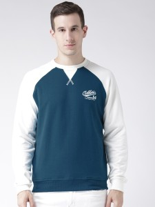 Club York Full Sleeve Colorblock Men's Sweatshirt