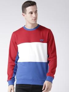 Club York Full Sleeve Solid Men's Sweatshirt