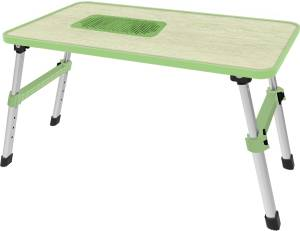 Gizga Essentials Solid Wood Portable Laptop Table