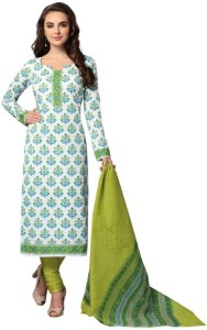 Vinay's Cotton Printed Salwar Suit Dupatta Material Un stitched