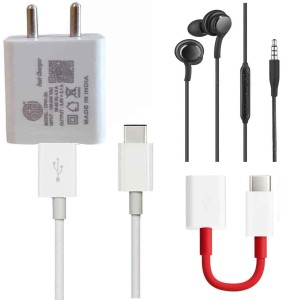 OTD Wall Charger Accessory Combo for MI A1, Oneplus 5T, LeEco Le 2, Coolpad Cool 1, LYF F1S