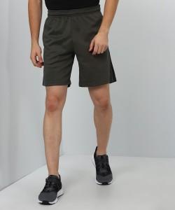 REEBOK Solid Men Dark Green Sports Shorts