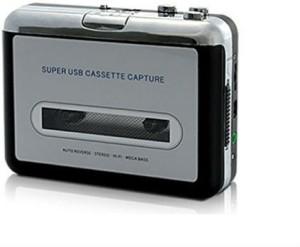Shrih Walkman Audio Cassette Tape Player to MP3 Converter Via PC SHV-3436 MP3 Player