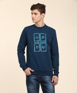 Wildcraft Full Sleeve Printed Men Sweatshirt