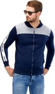 Maniac Full Sleeve Self Design Men's Jacket