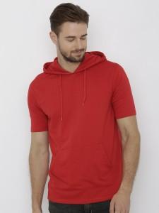 Deezeno Half Sleeve Solid Men's Sweatshirt