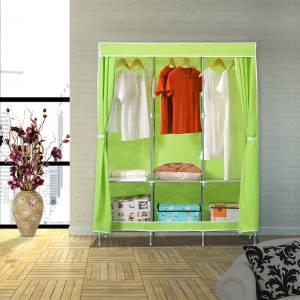 Flipkart SmartBuy 3-Door 6-Shelf PP (Polypropylene) Collapsible Wardrobe