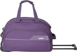 Safari 65 RDFL PURPLE Duffel Strolley Bag
