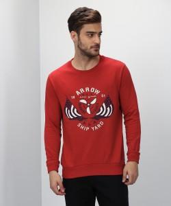 Arrow Sport Full Sleeve Printed Men Sweatshirt