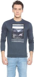 Peter England Full Sleeve Graphic Print Men Sweatshirt